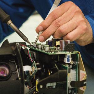 PTZ Camera Repair